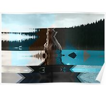 Lake And Beauty ftg0002 Poster