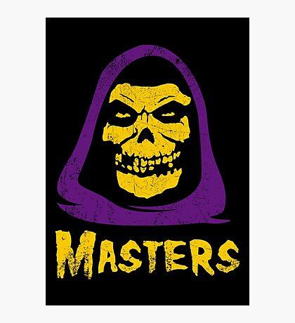 Masters - Misfits Photographic Print