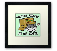 Pickles Protection Squad Framed Print
