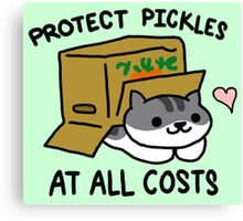 Pickles Protection Squad Canvas Print