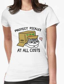 Pickles Protection Squad Womens Fitted T-Shirt