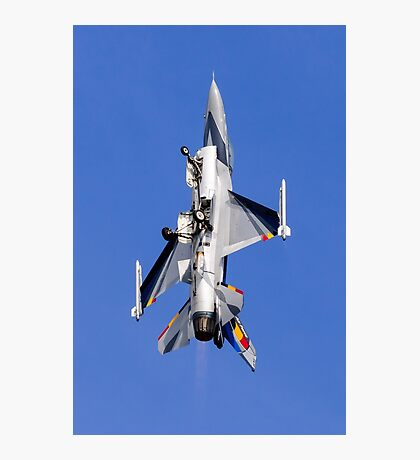 F-16 Gear Down Climb Photographic Print