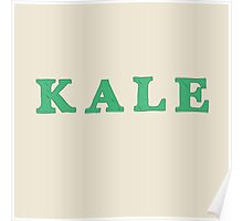 KALE Iconic Healthy trendy Food Poster