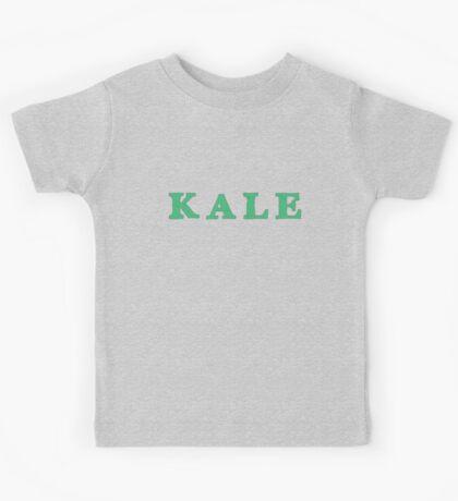 KALE Iconic Healthy trendy Food Kids Tee