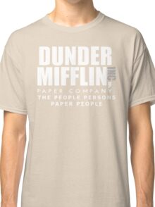 Dunder Mifflin The People Persons Paper People Classic T-Shirt