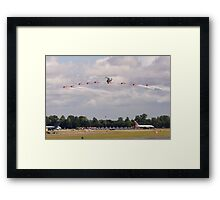 Propellors in Action Framed Print