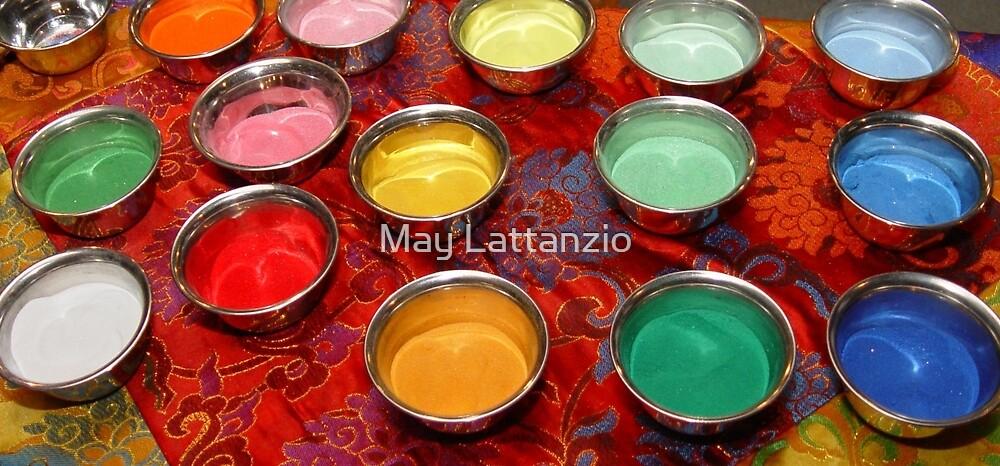 Mandala Sand by May Lattanzio