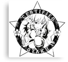 Certified Otaku Canvas Print