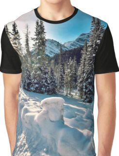 The Road To Spray Lakes, Alberta. Canada Graphic T-Shirt