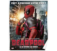 Deadpool cute like a barbie Poster