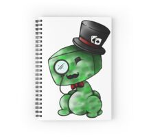 Charming Creeper Spiral Notebook