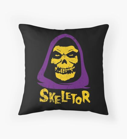 Skeletor - Misfits Throw Pillow