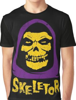 Skeletor - Misfits Graphic T-Shirt