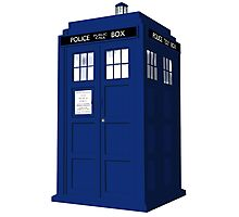 """Tardis"" Photographic Print"