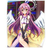 Kawaii Angel Wings Poster