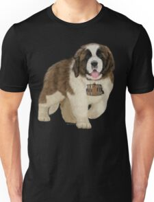 On A Mission - The Saint Bernard Unisex T-Shirt