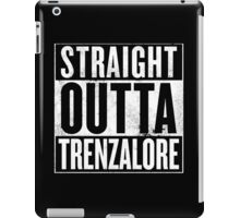 Staight Outta Trenzalore iPad Case/Skin