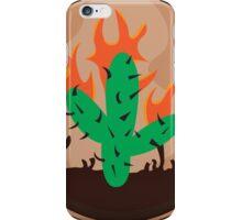 travis scott cactus la flame iPhone Case/Skin