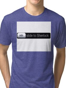 Slide To Sherlock Tri-blend T-Shirt