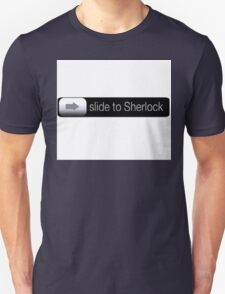 Slide To Sherlock T-Shirt