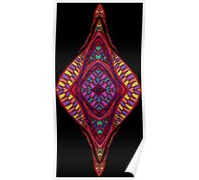 Psychedelic Abstract colourful work 95(partA) Poster