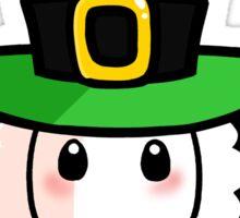 St Patrick's Day Llama Sticker
