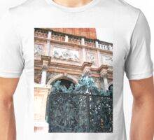 Beautiful venice door in old style. Unisex T-Shirt