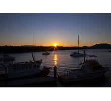Herbert River Sunset Photographic Print