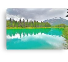 Bow River, Banff, Alberta, Canada Canvas Print