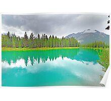 Bow River, Banff, Alberta, Canada Poster