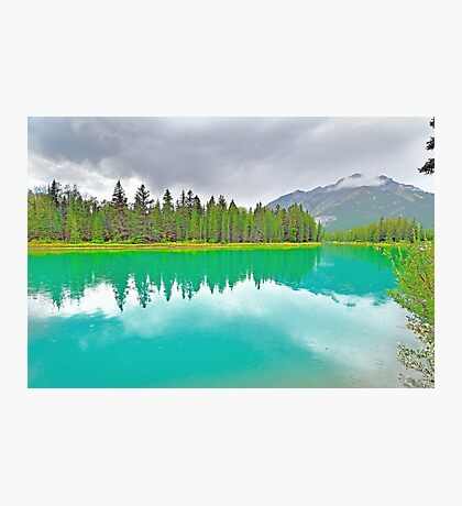 Bow River, Banff, Alberta, Canada Photographic Print