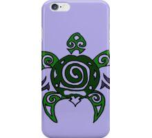 Fun Cool Turtle Tribal Art iPhone Case/Skin