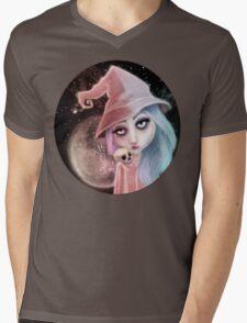 Astro Charmer Mens V-Neck T-Shirt