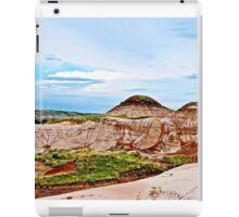 Drumheller Hoodoos - Alberta, Canad iPad Case/Skin