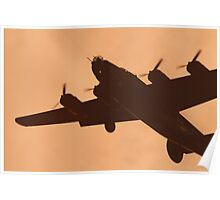WWII Era B17 Flying Fortress Poster