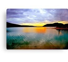 Barrier Lake, Kananaskis, Alberta, Canada Canvas Print