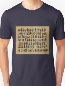 Dota 2 all heros in chibi form  T-Shirt