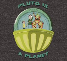 Pluto is a Planet (Rick and Morty) by alienaviary