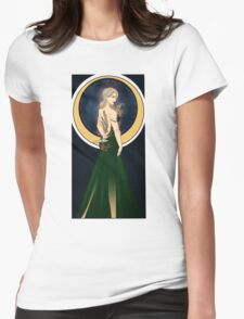 Art Nouveau Aelin Ashyver Galathynius - Throne of Glass Womens Fitted T-Shirt