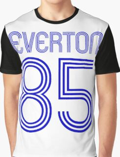Superteams #85 in a series Everton 1985 Graphic T-Shirt