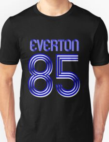 Superteams #85 in a series Everton 1985 Unisex T-Shirt