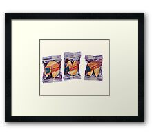 Fortune Cookies Framed Print