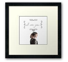 """I Am You."" Framed Print"