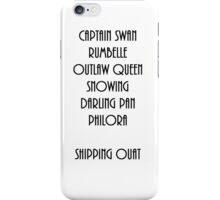 SHIPPING OUAT iPhone Case/Skin