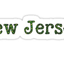 New Jersey Stripes Sticker