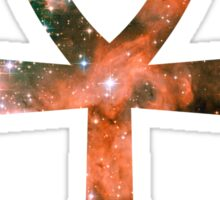 Kid Cudi Galaxy | Star Forming Region NGC-3603 [Red] | Ankh Sticker