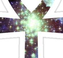 Kid Cudi Galaxy | Star Forming Region NGC-3603 [Blue] | Ankh Sticker