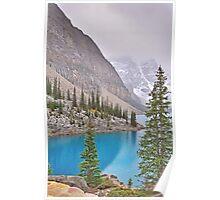 Moraine Lake, Fall-Alberta, Canada Poster