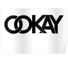 Ookay Logo Poster