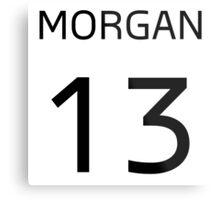 MORGAN 13 Metal Print